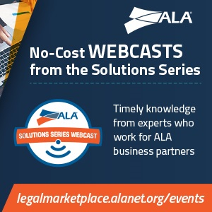 ALA Solutions Series Webcasts